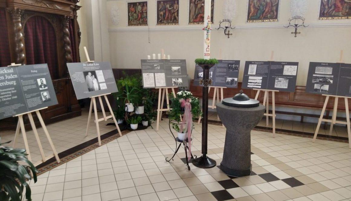 Ausstellung Stolpersteine